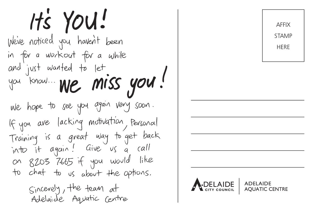 postcard design back