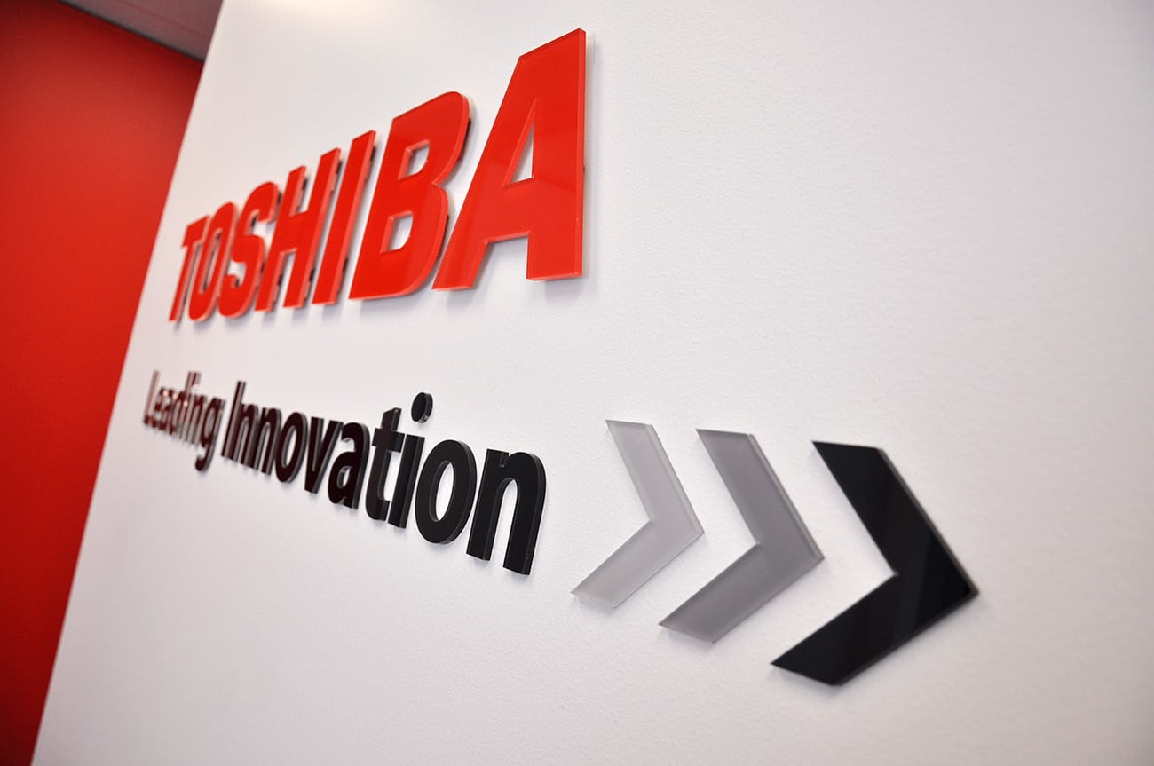 toshiba sign design adelaide