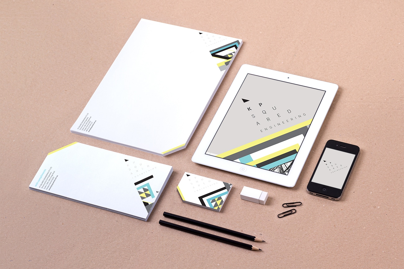 kp2 stationery design