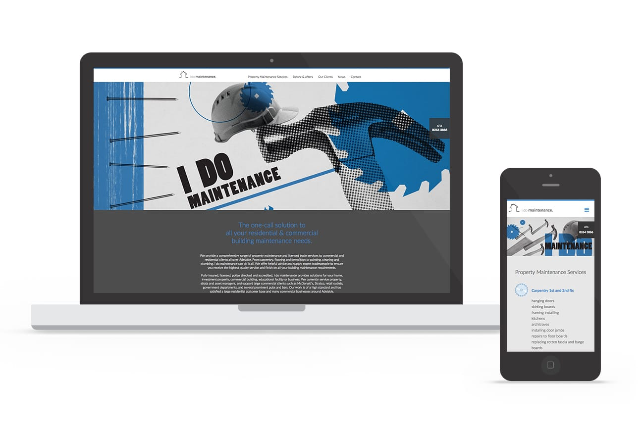 idm website design