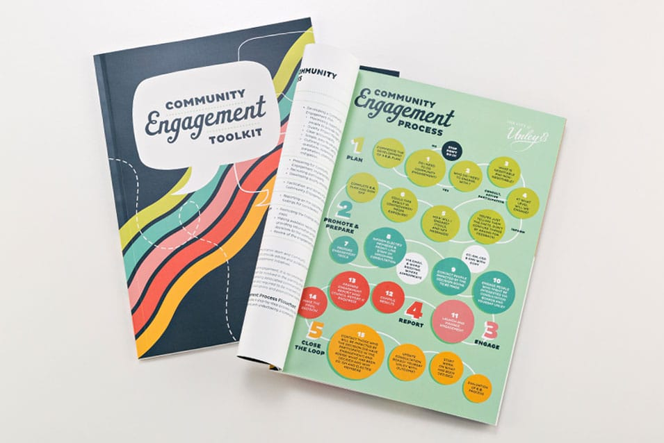 community engagement toolkit graphic design
