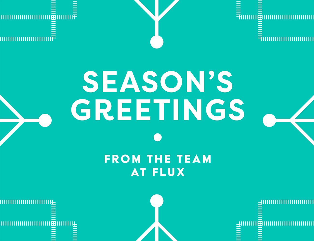 flux design festive message 2016