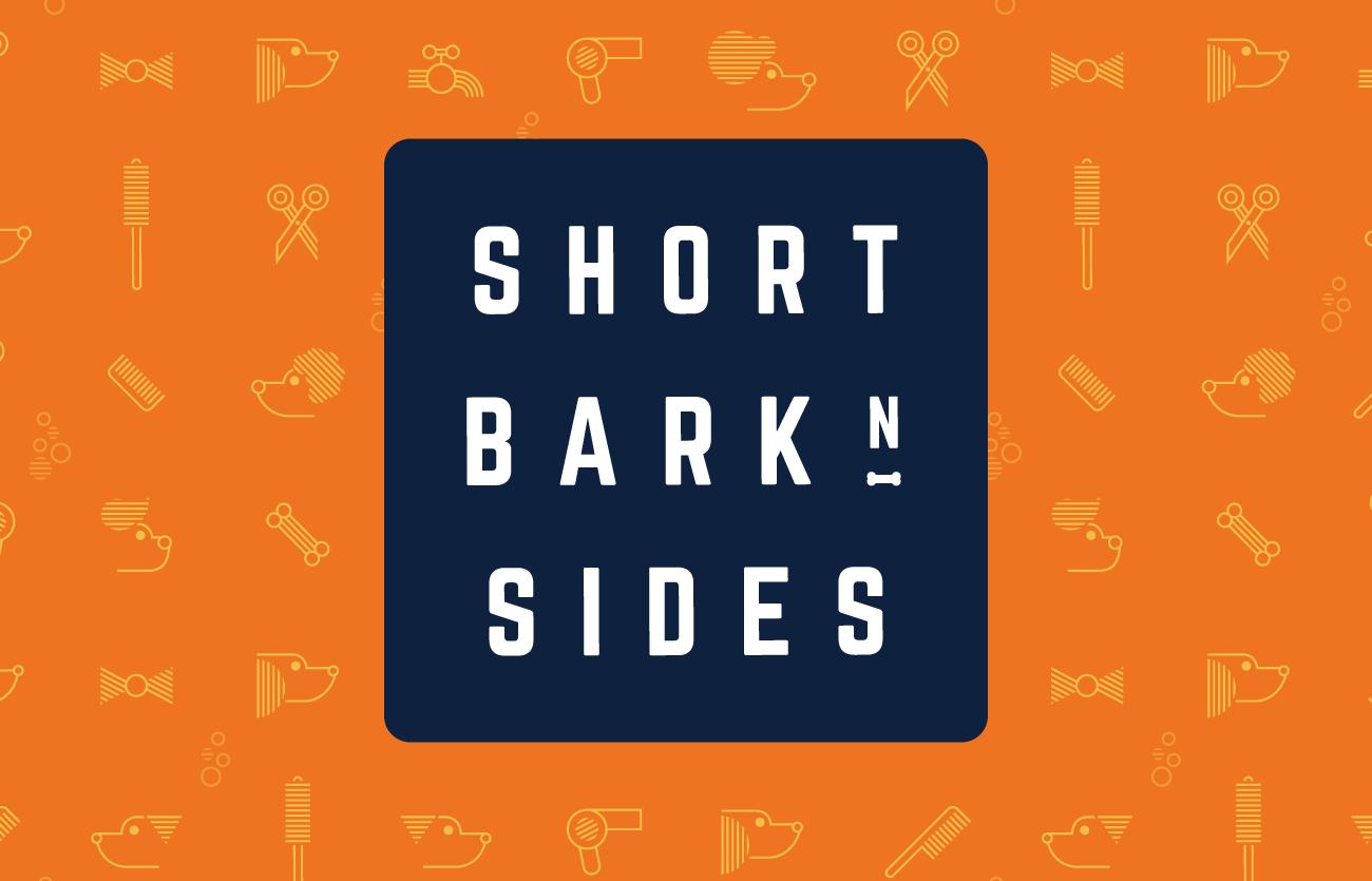 short bark sides logo design adelaide colour