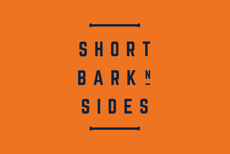 short bark n sides logo design adelaide feature