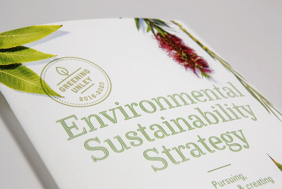 environmental strategy graphic design Adelaide Unley