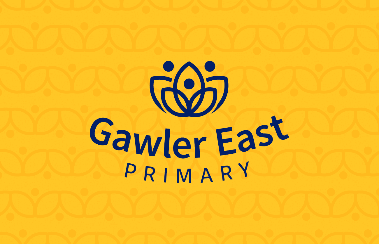 Gawler East Primary logo design with typography by Flux design adelaide