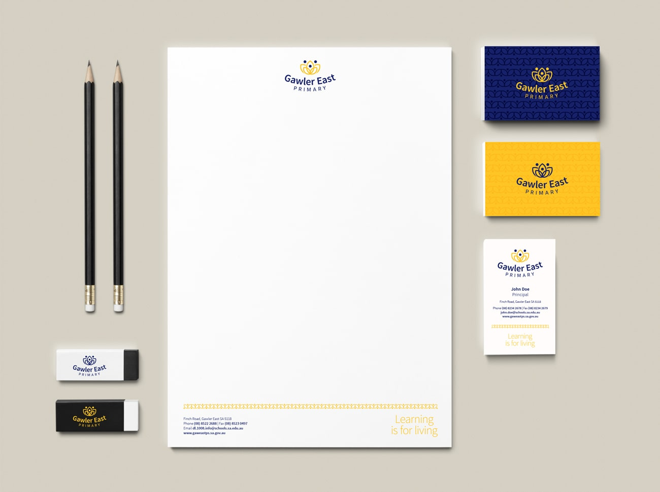 gawler east primary new stationery design adelaide