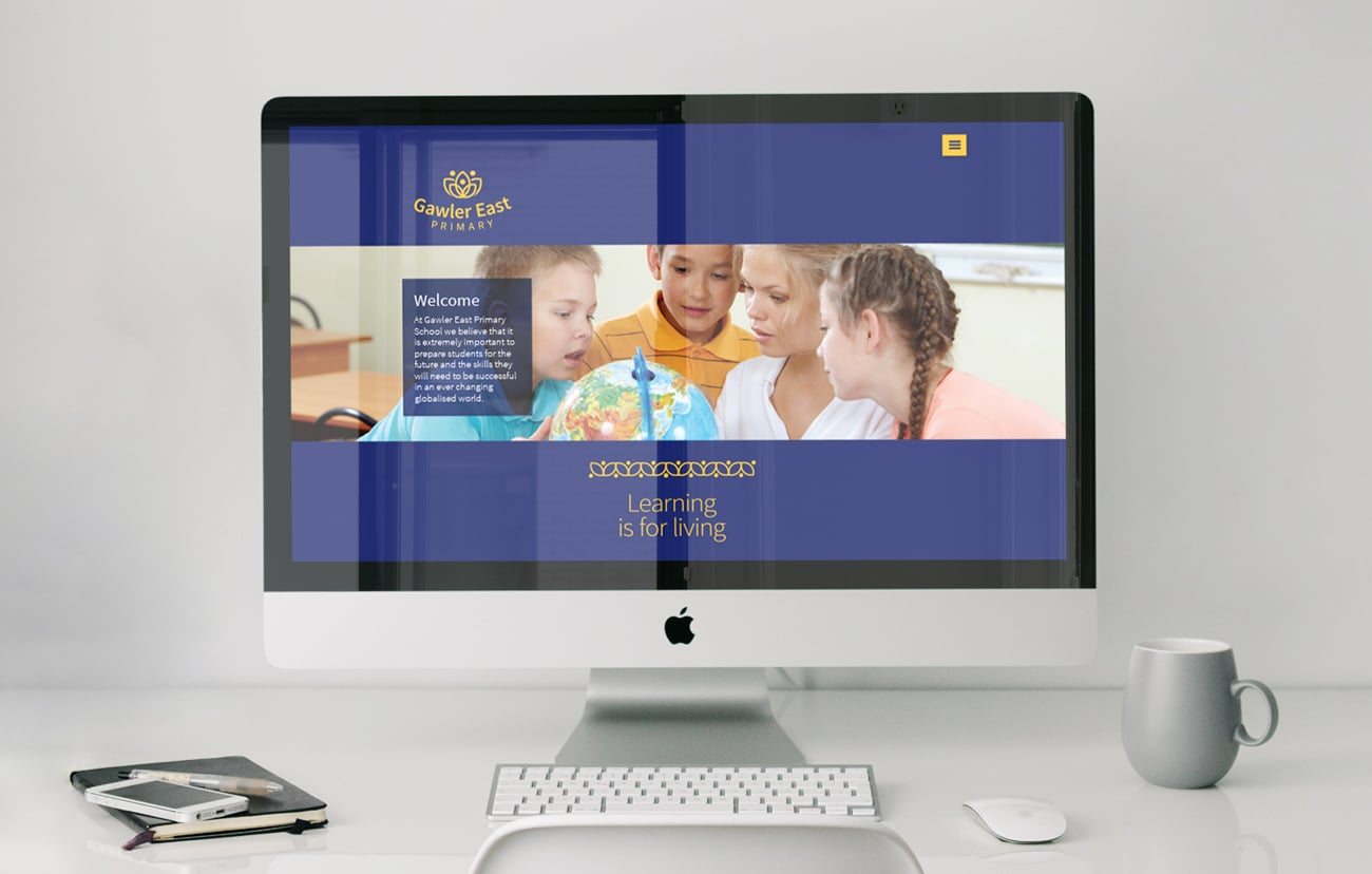 gawler east primary proposed website design adelaide