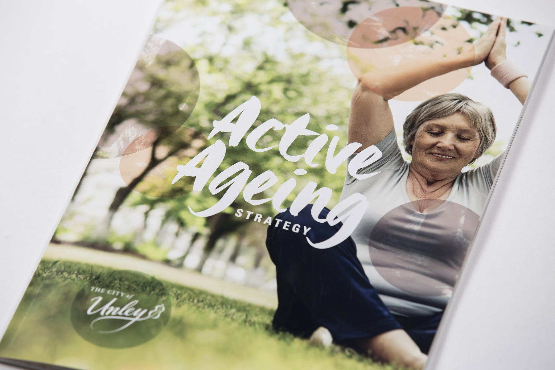 Active Ageing publication image brochure cover