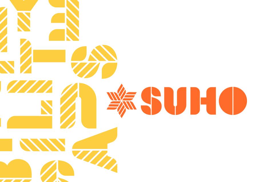 SUHO logo design