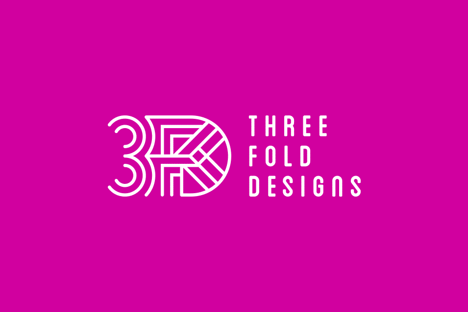 Threeefold Design logo design adelaide
