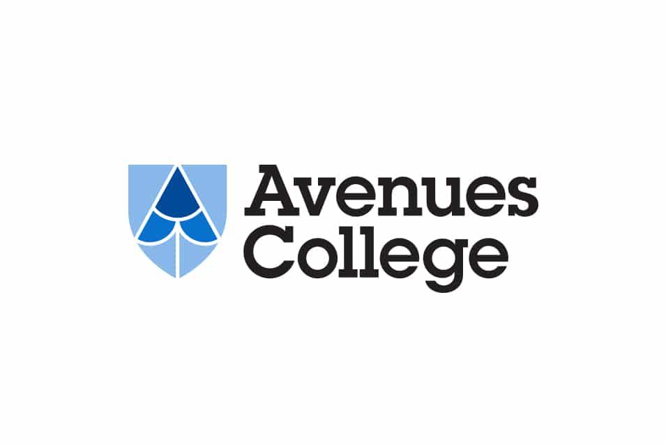 Avenues College identity, school branding, Adelaide design