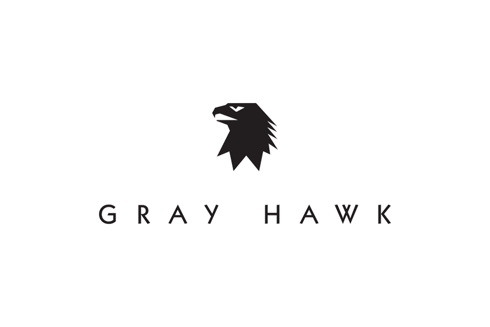 gray hawk logo design Adelaide design studio