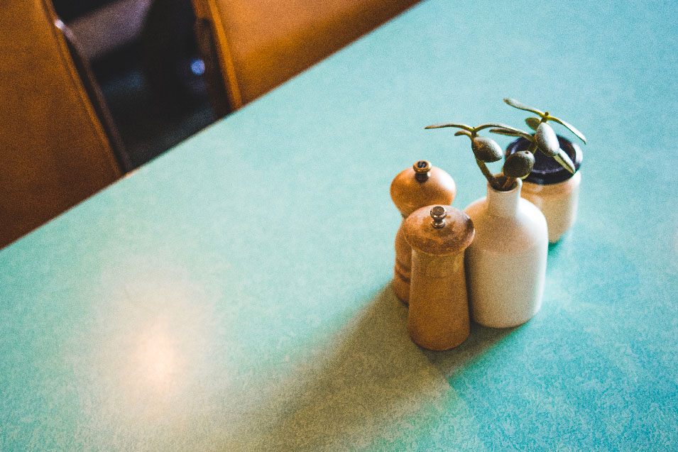 mister sunshines cafe still life salt and pepper shakers adelaide