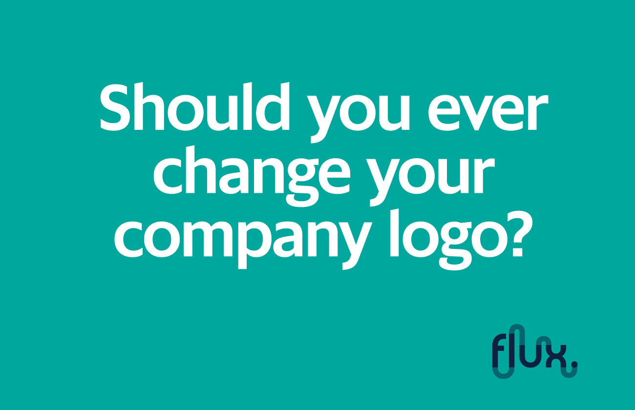 Should you ever change your company logo?