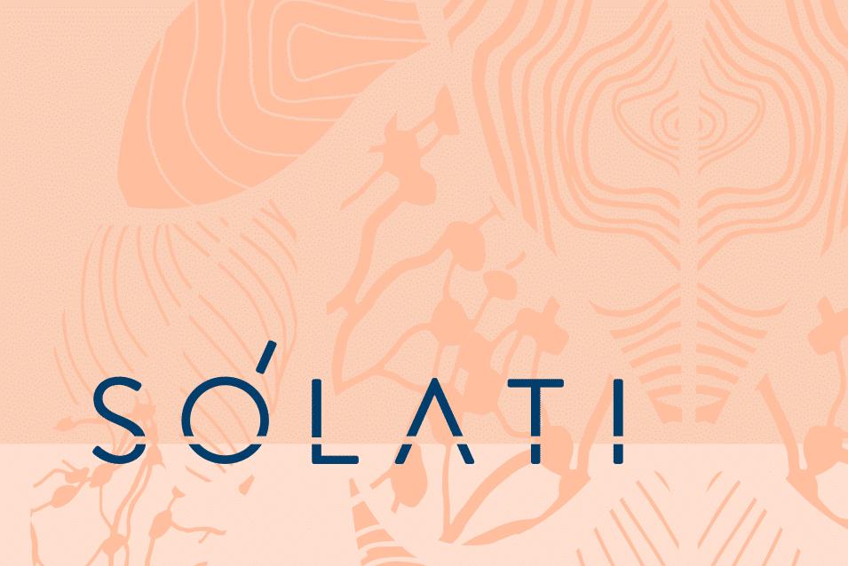 Solati logo design adelaide